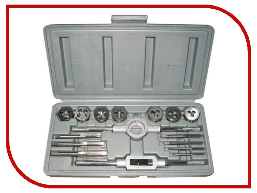 Набор метчиков и плашек Туламаш М3-М12 ТМ 92897 набор метчиков и плашек skrab 33859