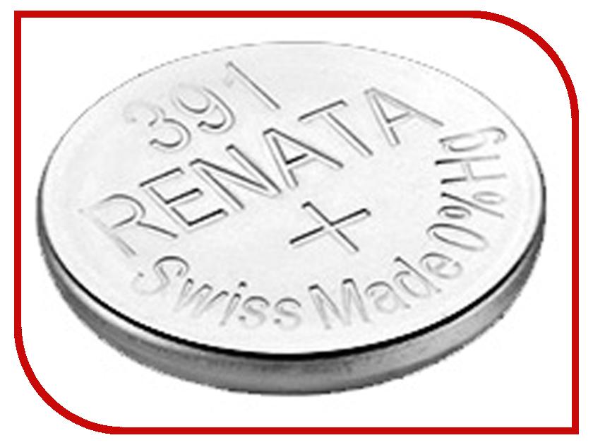 Фото - Батарейка R391 - Renata SR1120W (1 штука) батарейка r376 renata sr626w 1 штука
