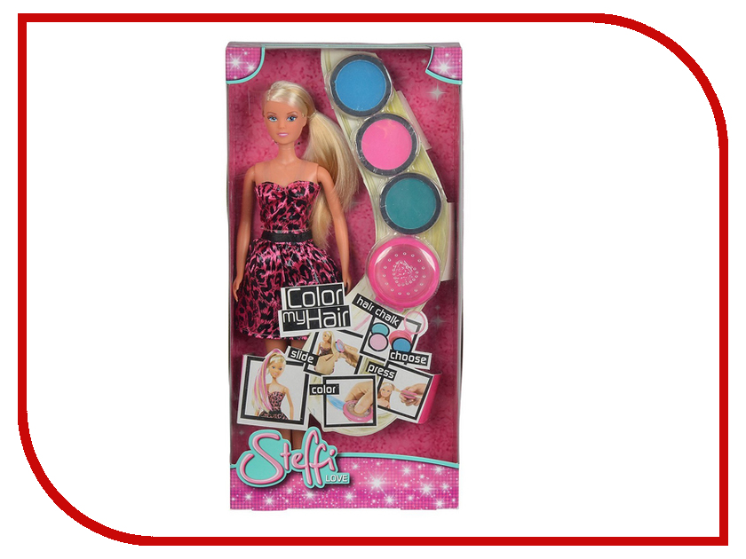 Кукла Simba Штеффи с набором для окрашивания волос 476280 / 5730342