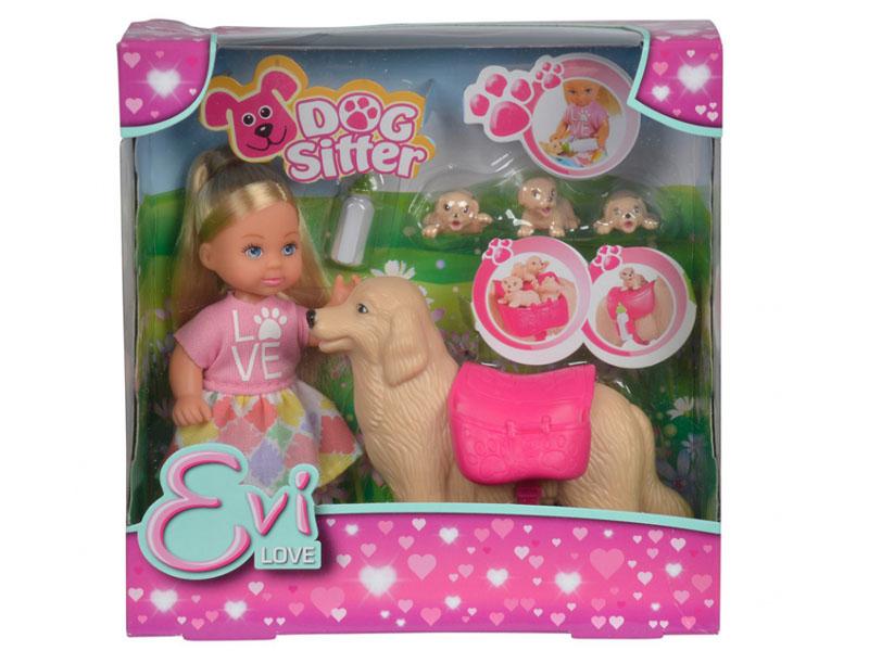Кукла Simba Еви с собачкой и щенками 486854 / 5733072 цена