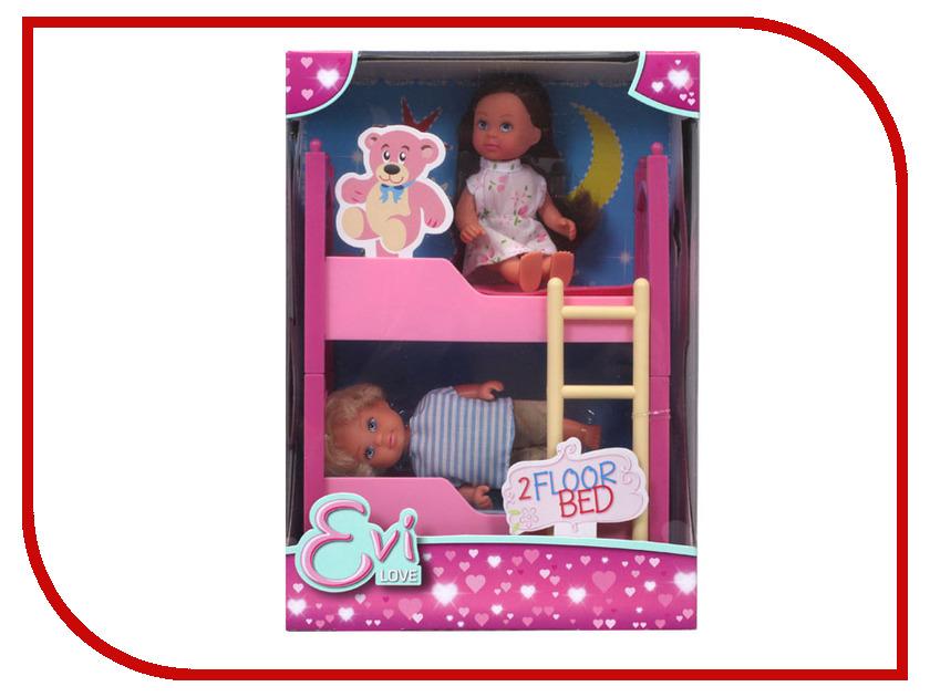 Кукла Simba Еви с братиком и двухъярусной кроваткой 513975 / 5733847029 набор кукол simba еви 2 шт с кроваткой 5733847