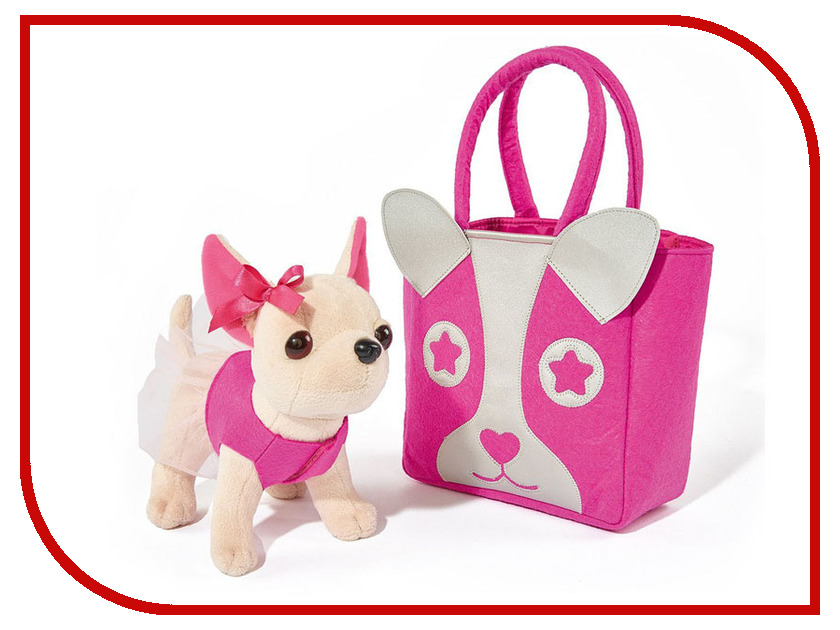 Игрушка Simba Собачка Chi Chi Love Чихуахуа с розовой сумкой 20cm 513832 / 5897403 jtc головка торцевая torx 1 4 х e6 jtc 22006