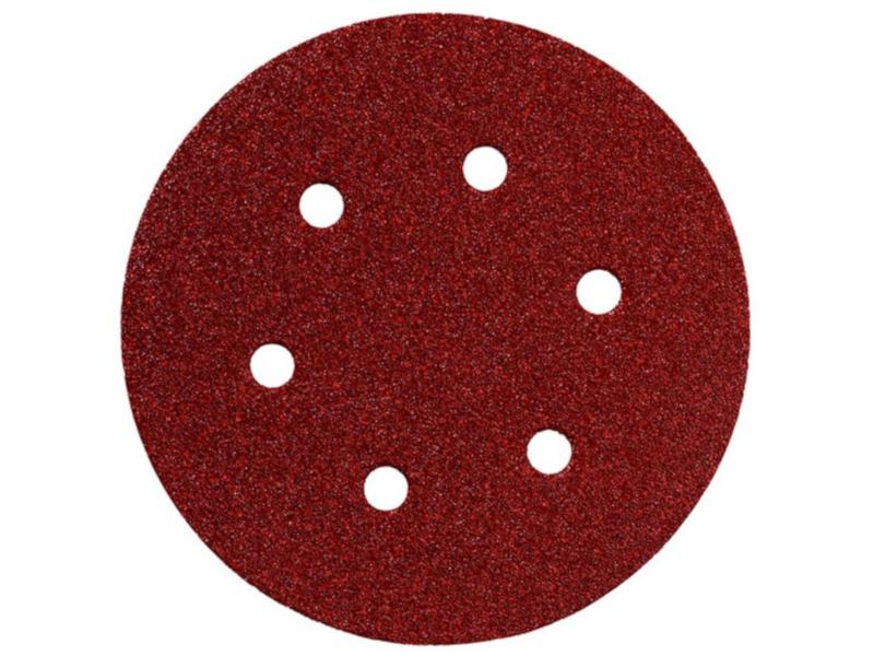 Шлифовальный круг Metabo 150mm P320 5шт 624008000