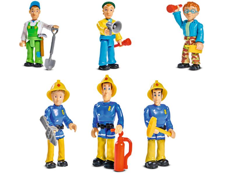 Игровой набор Simba Пожарный Сэм 558661 / 9251015 игровой набор с фигурками simba пожарный сэм пожарная машина