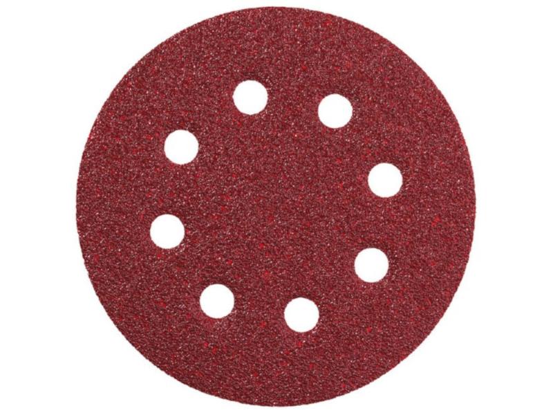 Шлифовальный круг Metabo 125mm P80 5шт 631228000