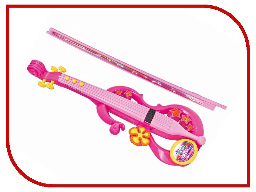 Детский музыкальный инструмент Simba скрипка My Music World Girls 6836645 музыкальный инструмент детский doremi синтезатор 37 клавиш с дисплеем
