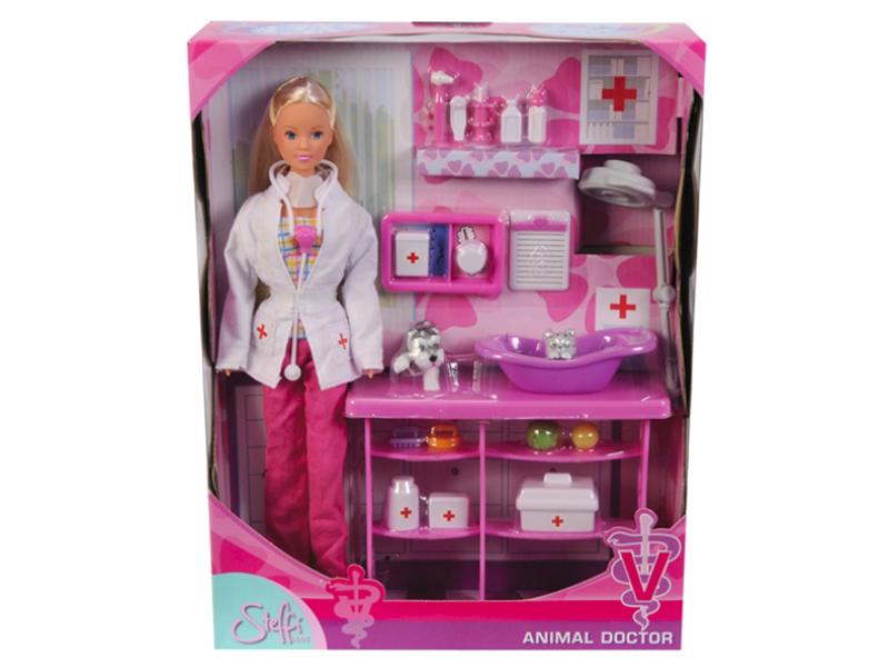 цены на Кукла Simba Штеффи - Ветеринар 84270 / 5737393  в интернет-магазинах
