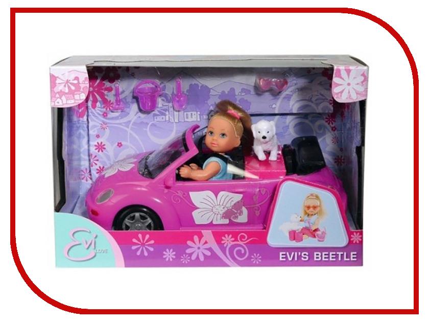 Кукла Simba Еви с машинкой 85623 / 5731539 кукла simba кукла еви с машинкой 12 см