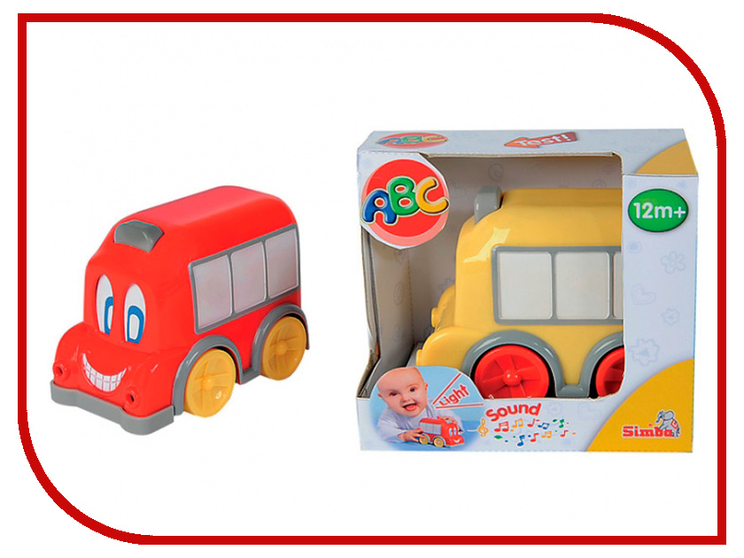 Игрушка Simba Автобус 67439 / 4011646 simba головоломка simba