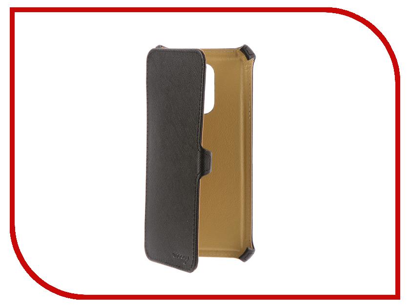 Аксессуар Чехол для Xiaomi Redmi 5 Snoogy иск. кожа Black SN-Xiab-5-BLK-LTH аксессуар чехол huawei honor 8 lite snoogy иск кожа black sn hhb 8lite blk lth