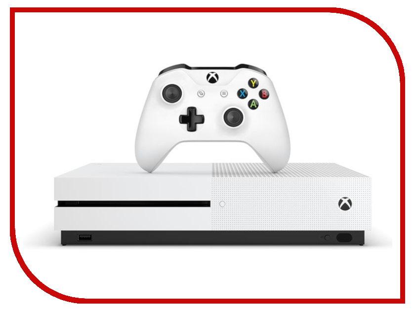 Игровая приставка Microsoft Xbox One S 1Tb White ( 234-00311) + код Playerunknowns BattleGrounds xbox