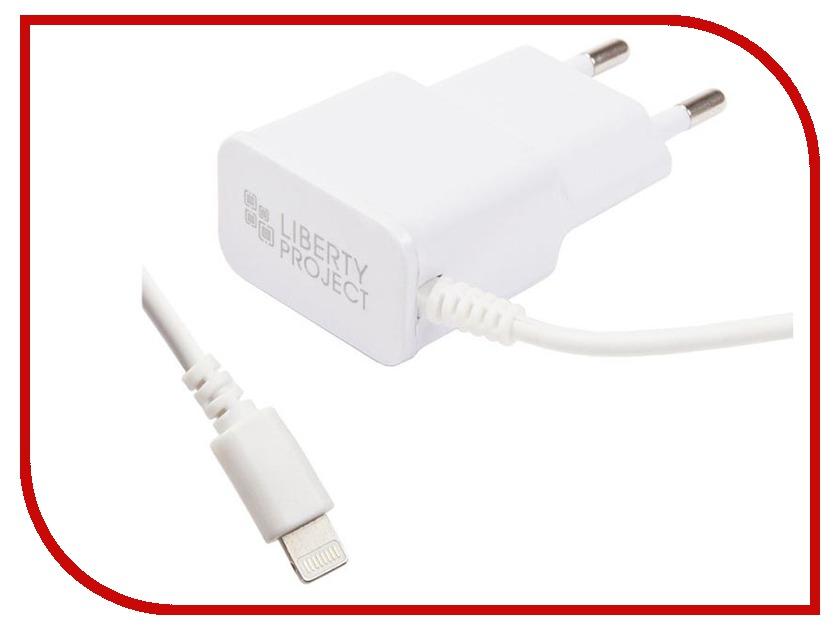 Зарядное устройство Liberty Project 1А Apple 8 pin White 0L-00030221 цена и фото