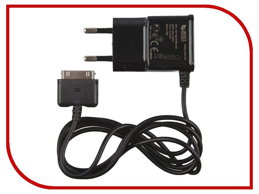 Зарядное устройство Liberty Project 2.1A Apple 30 pin R0005494