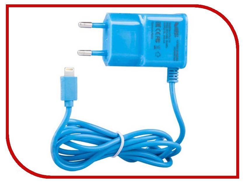 Зарядное устройство Liberty Project 2.1A Apple 8 pin Blue 0L-00000693 kagerou project cosplay ene blue wig