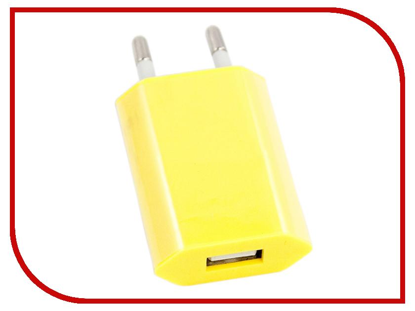 Зарядное устройство Liberty Project с USB 1А Yellow R0003916 aluminum project box splitted enclosure 25x25x80mm diy for pcb electronics enclosure new wholesale