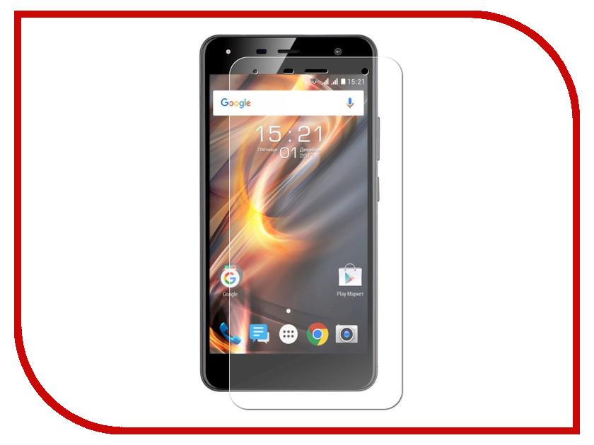 Аксессуар Защитное стекло Fly Memory Plus FS528 Red Line Tempered Glass УТ000015755 аксессуар защитное стекло red line full screen tempered glass matte для apple iphone 7 plus 5 5 gold
