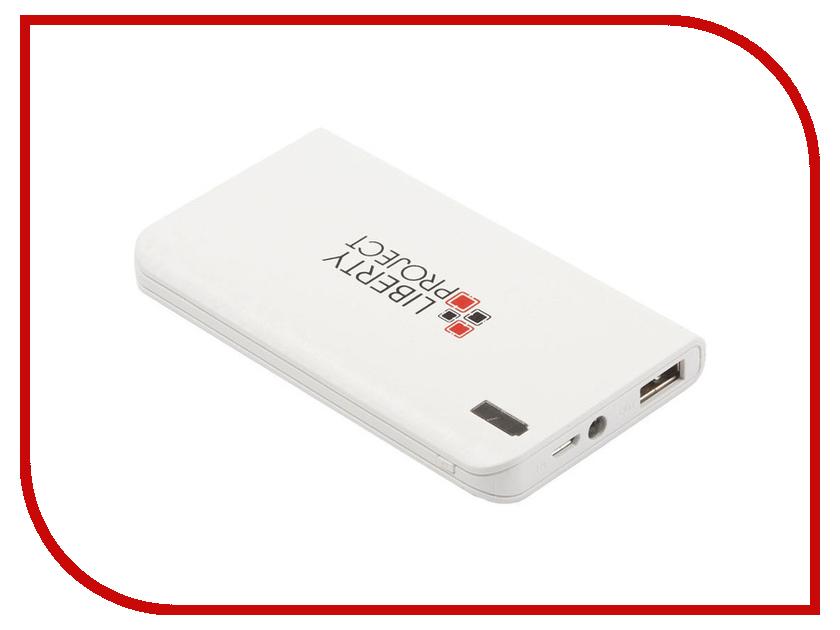 Аккумулятор Liberty Project 0L-00029998 8000mAh White аккумулятор mango device mp 8000wt 8000mah white 16324