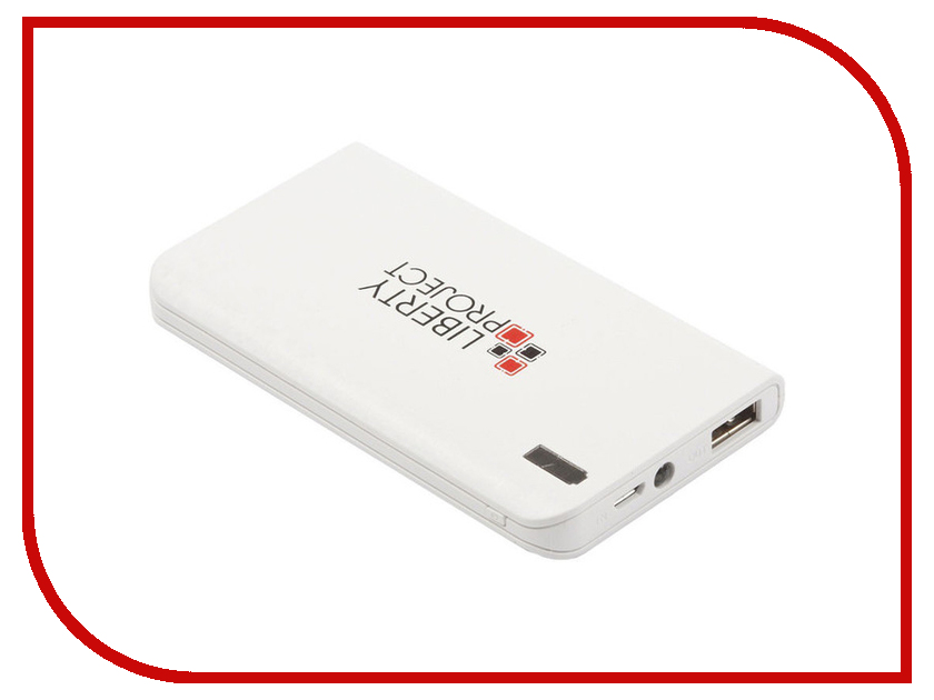 Аккумулятор Liberty Project 0L-00029998 8000mAh White