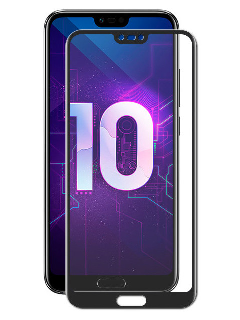 Защитное стекло Red Line для Honor 10/10 Premium Full Screen 3D Tempered Glass Black УТ000015682