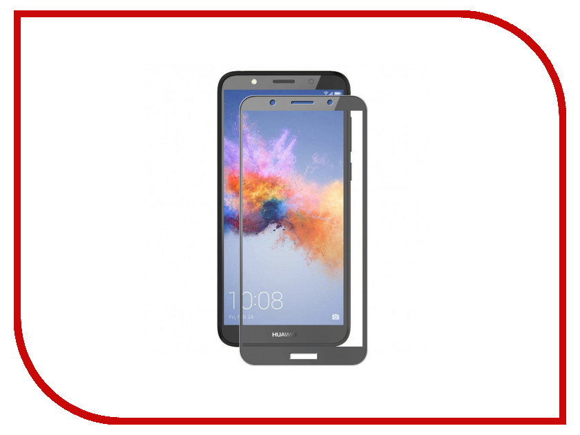 Аксессуар Защитное стекло для Huawei Y5 Prime 2018 Red Line Full Screen Tempered Glass Black УТ000015315 смартфон huawei y5 prime 2018 gold