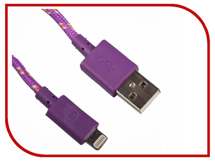 Аксессуар Liberty Project для APPLE iPhone/iPad 8 pin 1m Purpe 0L-00000320