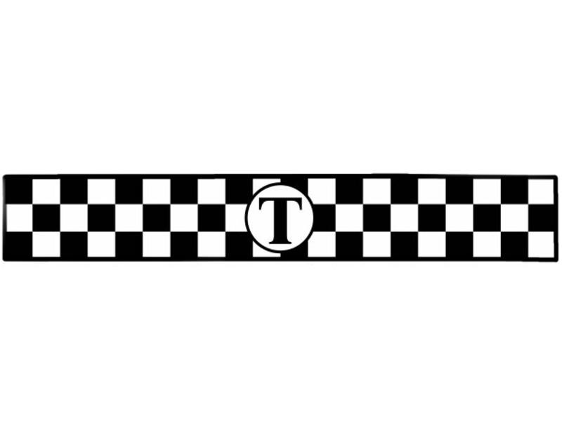 Аксессуар Магнит Такси Mashinokom Молдинг 10x30cm White ТМА 6616