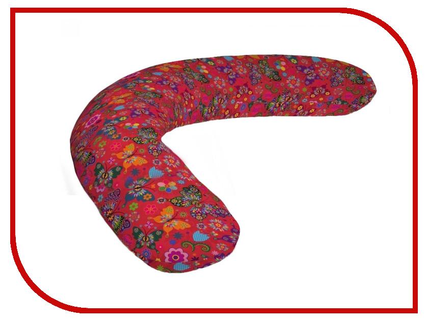 Подушка для беременных LeJoy Relax Бабочки RL-1013 подушка для беременных lejoy relax рыбки на голубом фоне rl 1010