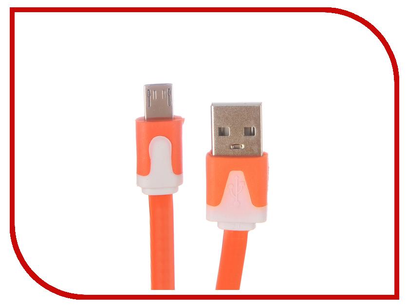 Аксессуар Liberty Project USB - Micro USB 1m Orange SM000323