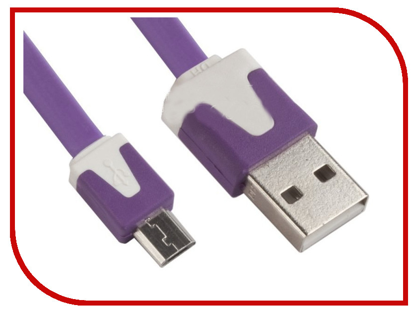 Аксессуар Liberty Project USB - Micro  1m Lilac R0003927