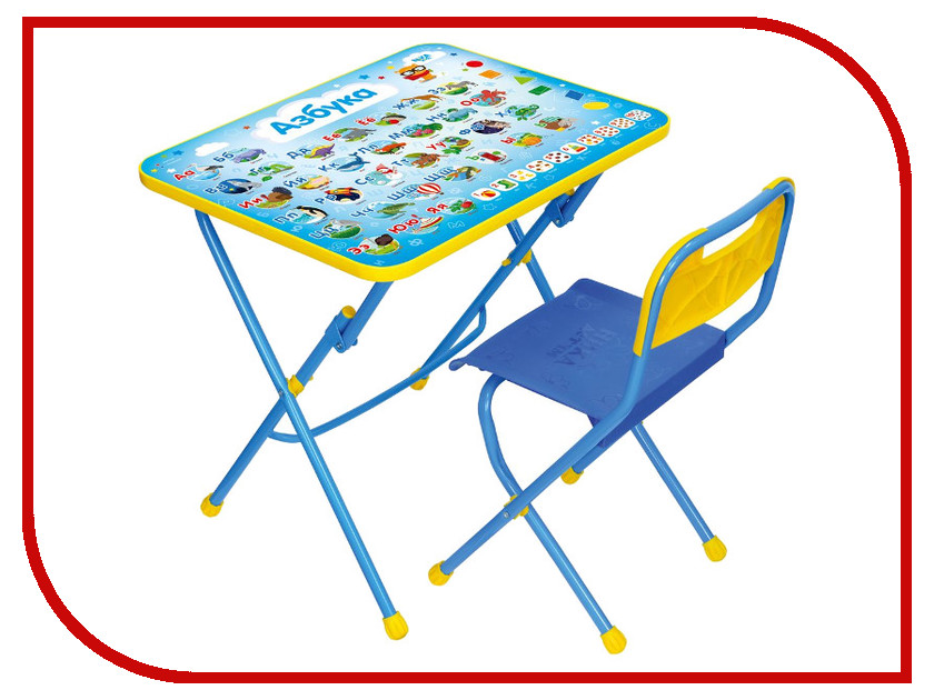 Игра Nika Азбука КПУ1/9 детский столик nika кпу2п 9 азбука