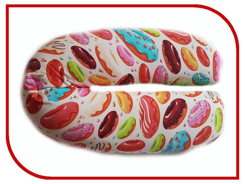 Подушка для беременных LeJoy Relax Пончики RL-1018 подушка для беременных lejoy relax рыбки на голубом фоне rl 1010