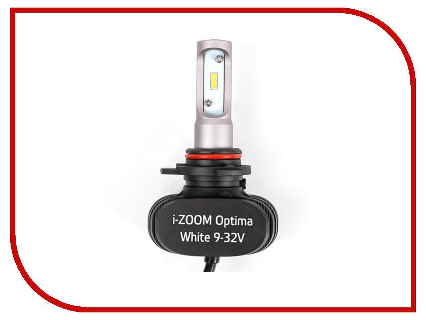 Лампа Optima HIR2 / 9012 LED i-ZOOM i-HIR2 carbar 9012 hir2 led headlight bulbs conversion kit high or low beam light bulbs 9012 hir2 4000k 5000k 6000k led headlight