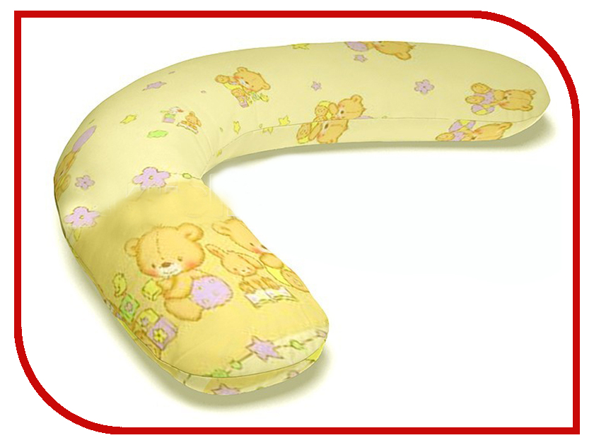 Подушка для беременных LeJoy Classic Бежевые мишки CL-101 подушка для беременных lejoy relax рыбки на голубом фоне rl 1010