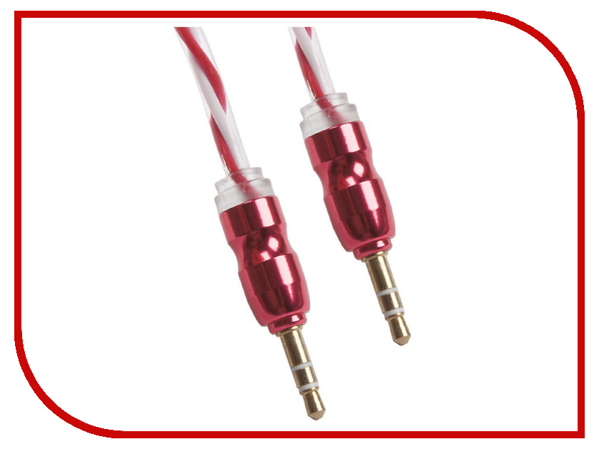 Аксессуар Liberty Project Jack 3.5 mm - Jack 3.5 mm 1m White-Red 0L-00030364