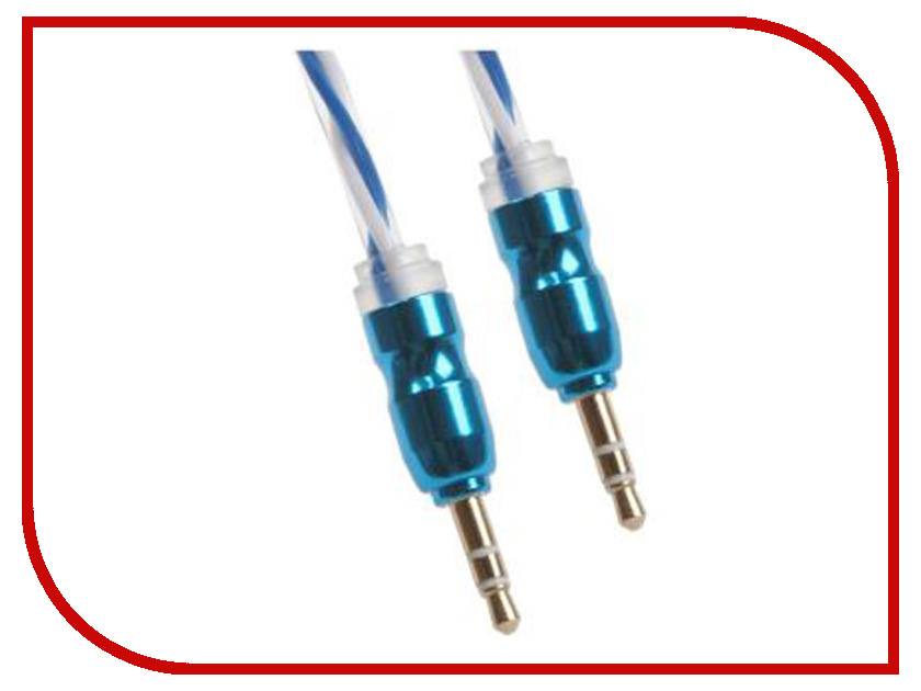 Аксессуар Liberty Project Jack 3.5 mm - Jack 3.5 mm 1m White-Blue 0L-00030361