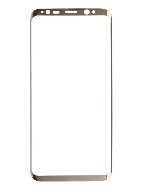 Аксессуар Защитное стекло Liberty Project для Samsung Galaxy S8 Tempered Glass 3D с рамкой 0.33mm Gold 0L-00032886 защитное стекло liberty project tempered glass 3d для iphone 7 plus 0l 00032636 с рамкой красный