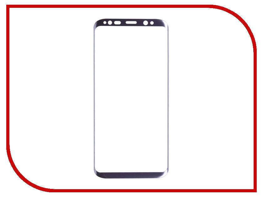 Аксессуар Защитное стекло Liberty Project для Samsung Galaxy S8 Tempered Glass 3D с рамкой 0.33mm Lilac 0L-00032884 liberty project car charger автомобильное зу для samsung galaxy note 3
