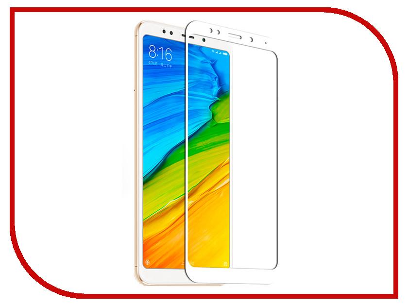 Аксессуар Защитное стекло для Xiaomi Redmi 5 Plus Liberty Project Tempered Glass 0.33mm White Frame 0L-00038646