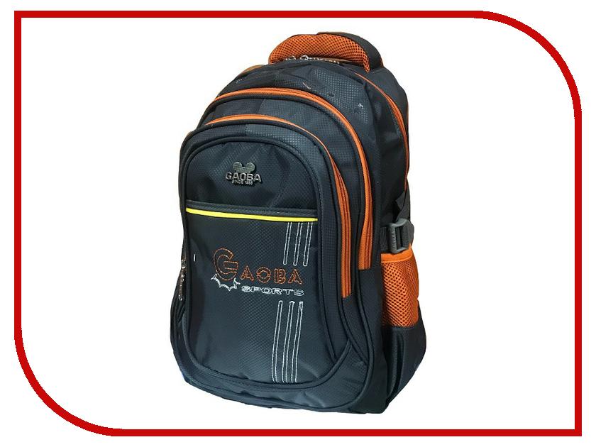 Рюкзак Gaoba Sports Grey-Orange 6241
