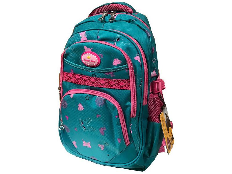 Рюкзак Gaoba Bunny Green-Pink 6813 bunny rhinestone hoodies pink l 14