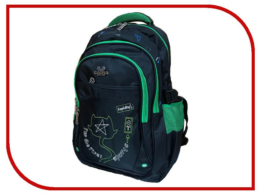 Рюкзак Gaoba First Sports Black-Green 6899 рюкзак woodland mount 90 green black