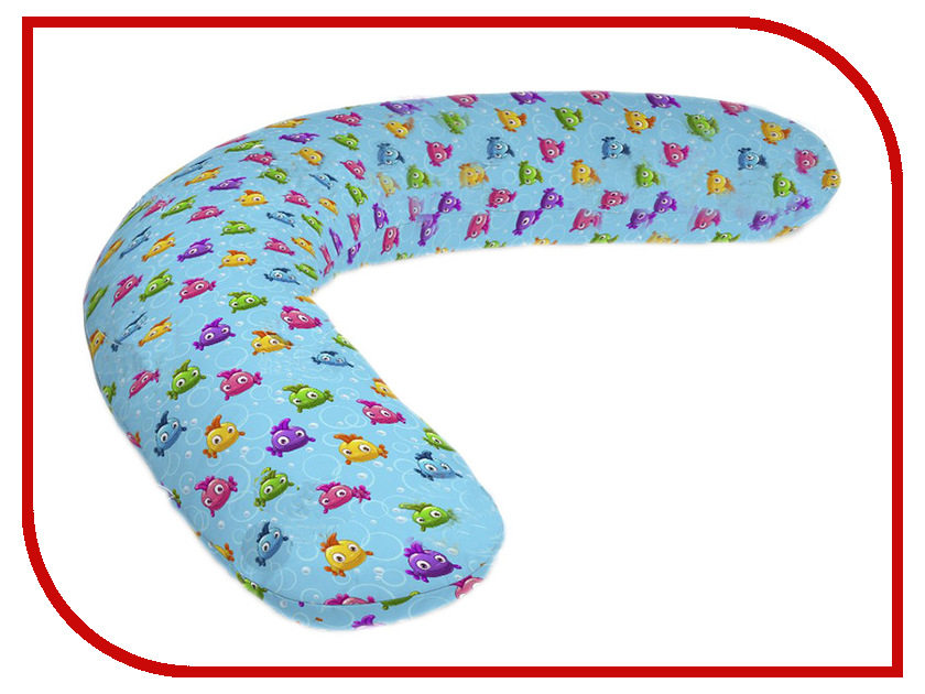 Подушка для беременных LeJoy Relax Рыбки на голубом фоне RL-1010 подушка для беременных lejoy relax рыбки на голубом фоне rl 1010