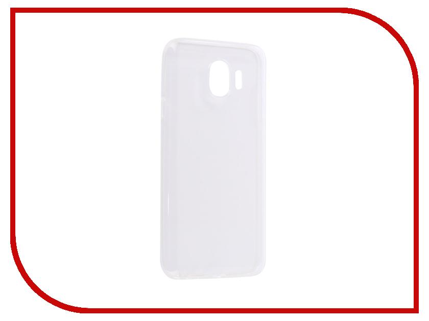 Аксессуар Чехол для Samsung J4 2018 J400F Zibelino Ultra Thin Case White ZUTC-SAM-J400F-WH аксессуар чехол для samsung j6 2018 j600f zibelino ultra thin case white zutc sam j600f wh