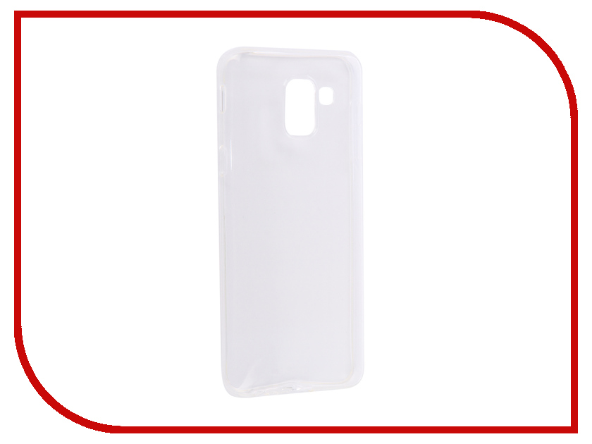Аксессуар Чехол для Samsung J6 2018 J600F Zibelino Ultra Thin Case White ZUTC-SAM-J600F-WH аксессуар чехол флип micromax e313 canvas xpress 2 gecko white gg f mice313 wh