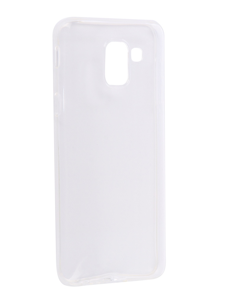 Чехол Zibelino для Samsung J6 2018 J600F Ultra Thin Case White ZUTC-SAM-J600F-WH