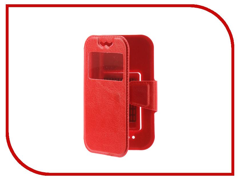Чехол Liberty Project универсальный раскладной L 120х56mm Red 0L-00002571