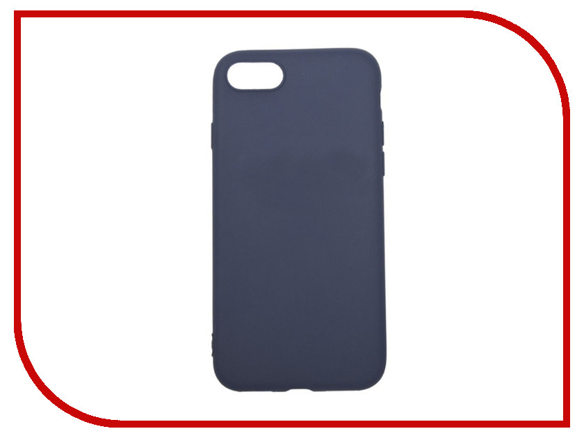 Аксессуар Чехол для APPLE iPhone 8 / 7 Liberty Project Silicone TPU Blue 0L-00031559 аксессуар чехол nillkin nature tpu для iphone 7 8 white n tpu ap iphone7