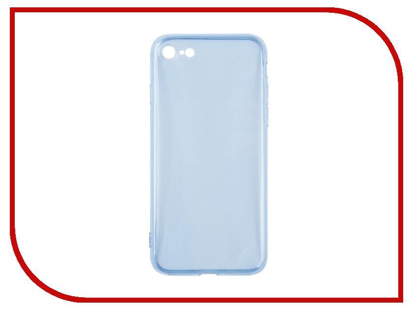 Аксессуар Чехол чехол Liberty Project Silicone для APPLE iPhone 8 / 7 TPU Blue 0L-00030617 силиконовый чехол для iphone 7 ударопрочный tpu armor case прозрачный 0l 00029776