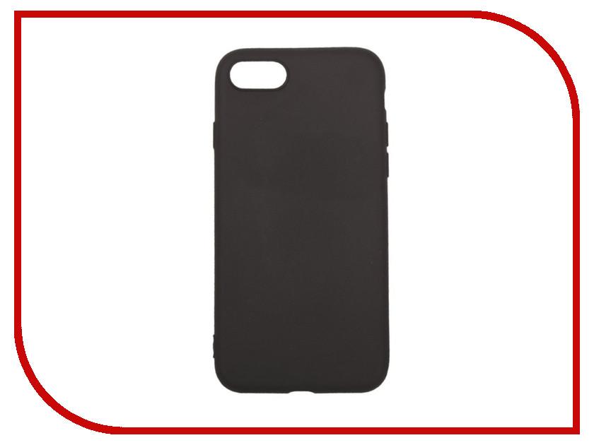 Аксессуар Чехол Liberty Project Silicone для APPLE iPhone 8 / 7 TPU Black 0L-00031558 силиконовый чехол для iphone 7 ударопрочный tpu armor case прозрачный 0l 00029776