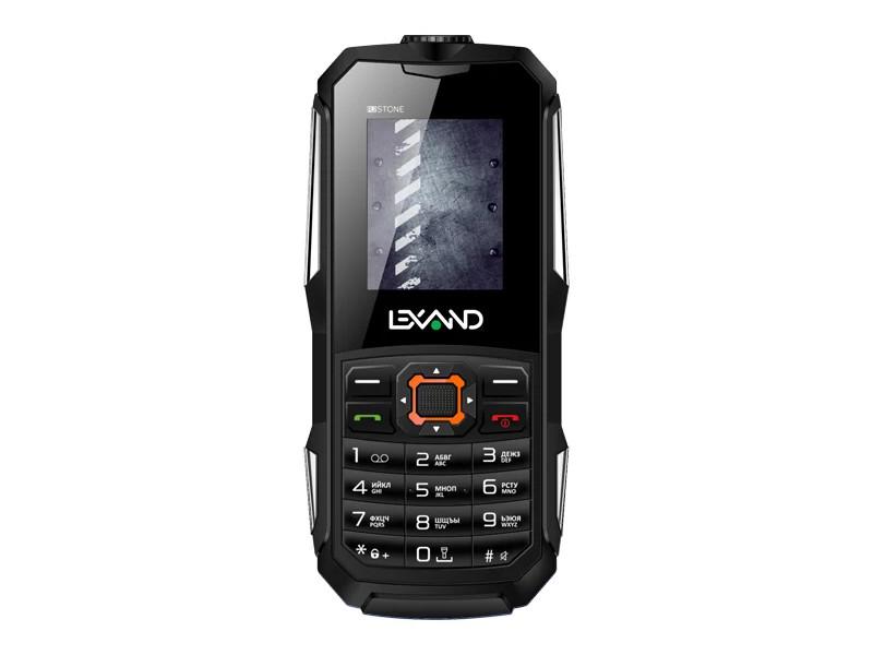 Сотовый телефон LEXAND R2 Stone Black мобильный телефон lexand r2 stone синий
